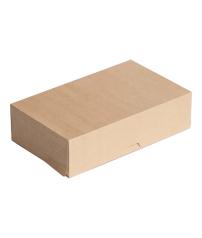 Коробка под пирожные из эко-картона