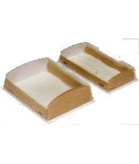 Коробка для пирожных витринная